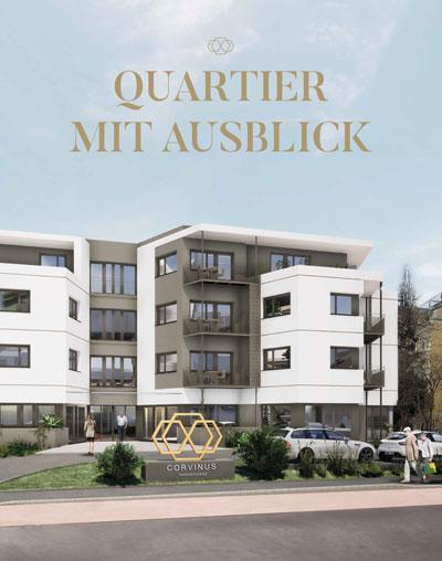 Corvinus Parkresidenz Wiener Neustadt   Broschüre 2020