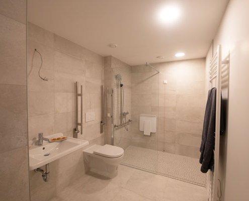 Wohnen im Alter Badezimmer